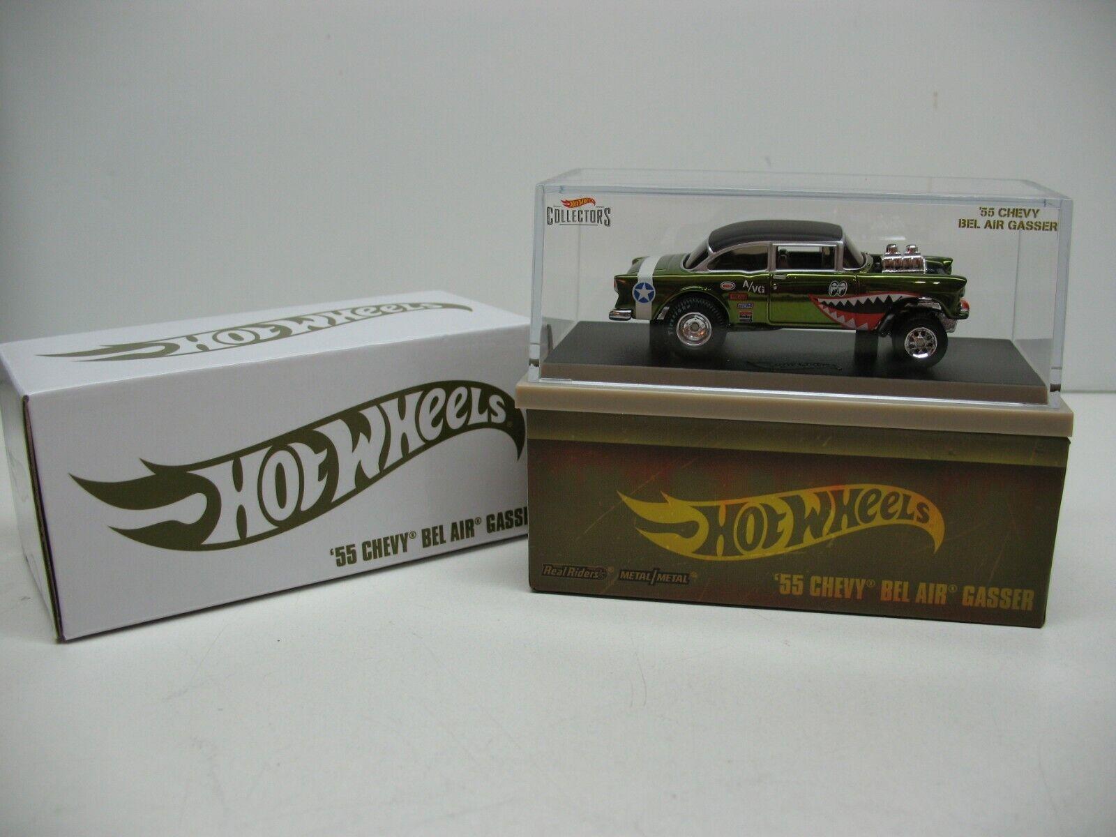 2019 Hot Wheels rot Line Club - 55 Chevy Bel Air Gasser (WWII Fliegening Tigers) RLC