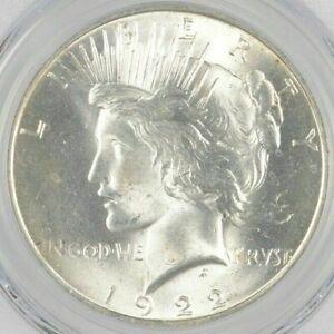Uncirculated-1922-Peace-Silver-Dollar-90-BU-Single-Philadelphia-Stunning