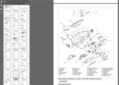 Hyundai Santa Fe 2010 manuale officina workshop manual