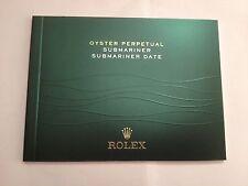 Rolex SUBMARINER DATA PERPETUA ITALIANO OPUSCOLO 2012 o 2013