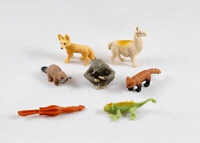 Set of 30 Good Luck Mini Tiny Model Figurines Safari Ltd Wild Animals Pack