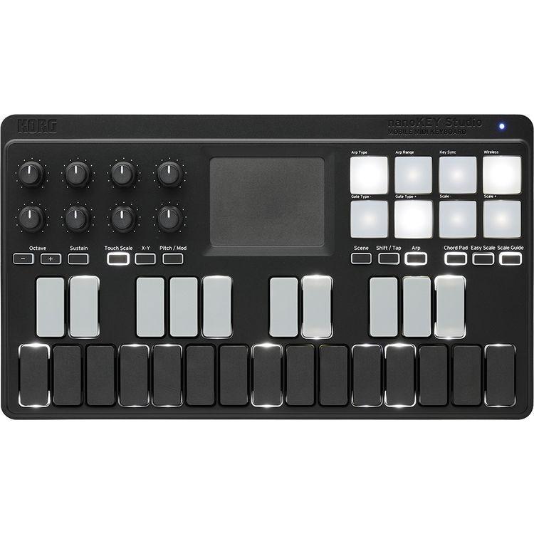 Korg Nanokey Studio móvil controlador controlador controlador de teclado MIDI USB azulTOOTH 2nd libre de día  edición limitada