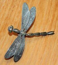 belle libellule en bronze garniture pour lustre ou vase art nouveau art deco