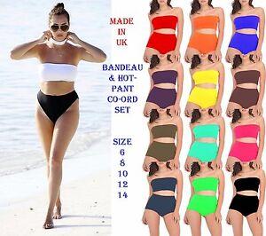 New-Womens-Bandage-Crop-Bikini-Set-Push-up-Swimsuit-Bathing-Swimwear-Sexy-Suit