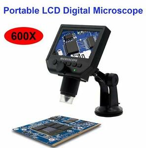Microscopio-600X-Electronico-USB-Video-Camara-Lupa-Aumento-LCD-4-3-034-OLED-HD-LED