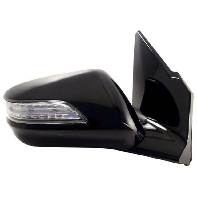 NEW Black Power Heated Side View Mirror RH / FOR 10-13