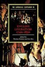 The Cambridge Companion to English Literature, 1740-1830 by Cambridge University Press (Paperback, 2004)