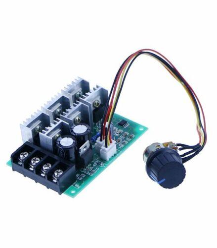40A PWM DC Controller Velocità Motore 12v 24v 36v 48v con  Potenziometro Manopol