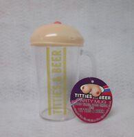 Titties & Beer Party Mug Bachelor Party Birthday Cheer Fun Mens Novelty Gag Gift