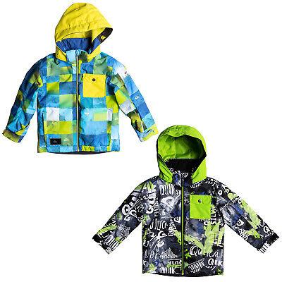 Amabile Quiksilver Little Missione Jacket Bambini Snowboard Giacca Giacca Sci Giacca Funzione-mostra Il Titolo Originale