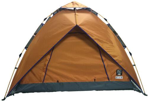 orange 2 Personne Pop Tente-Rapide Facile pas deux personne Festival Tente Camping