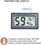 thumbnail 3 - Veanic 4-Pack Mini Digital Electronic Temperature Humidity Meters Gauge Indoor ℉