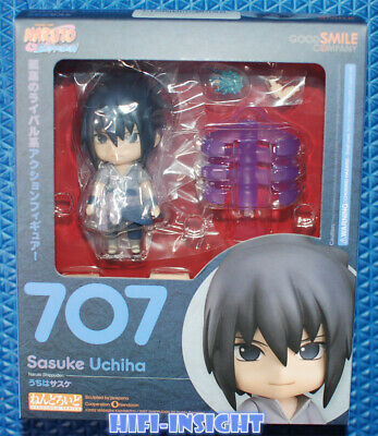 Nendoroid Naruto Shippuden Uchiha Sasuke Anime Action PVC Figure Figurine Gift
