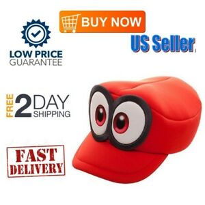 84a462bbc4c372 Super Mario Odyssey Cappy Hat Cosplay Accessory Child Boys Head Wear ...