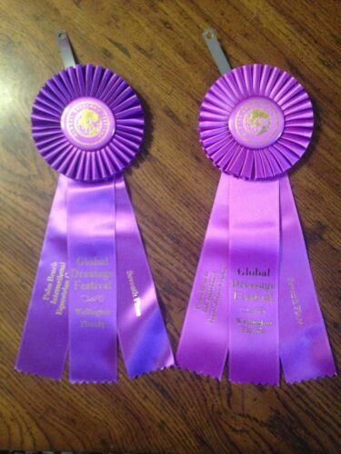 Lots Of Horse Show Award Ribbons Rosettes Championship Sash Arts Crafts You Pick