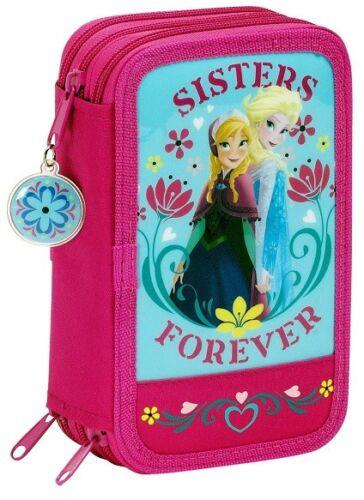 Disney Frozen Die Eiskönigin Federmäppchen XL 41 Teile Etui Federtasche NEU