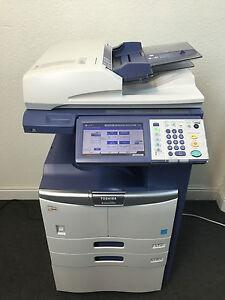 toshiba e studio 255se copier printer scanner network fax free