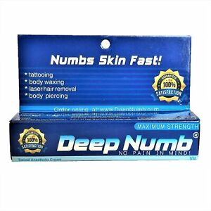 2 x 10g DEEP NUMB Numbing Cream Tattoo Body Piercings Waxing Laser ...