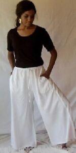 Jupe Split Taille Gaucho Unique L 1x XL 3x 6x 2x M Palazzo Blanc 5x 4x Pantalon gRwnqxSO6g