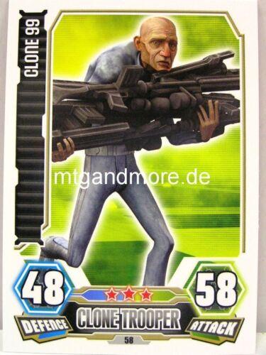 Force Attax série 3 CLONE 99 #058