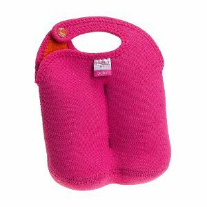Built NY  Double Thirsty Tote Neoprene Baby Bottle Tote Pink or Blue Ships FREE