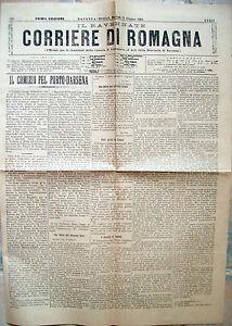 1901-GIORNALE-ROMAGNOLO-CON-COMIZIO-PER-LA-DARSENA-RAVENNA-NAVIGAZIONE-PUGLIA