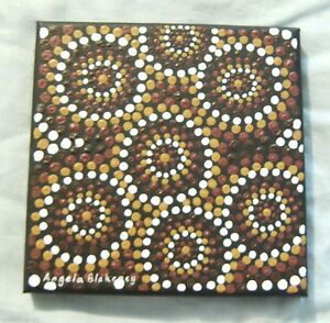AB1110-ABORIGINAL-ART-BY-ANGELA-BLAKENEY-WITH-CERTIFICATE-OF-AUTHENTICITY