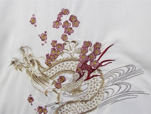 Japanese Embroidery Kimono Coat Jacket Cardigan Retro Loose Tops Dragon
