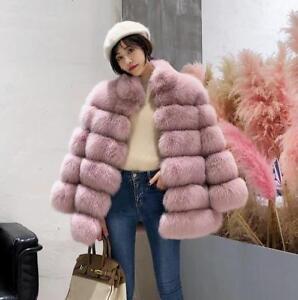 Nouveau outwear pour longue de pardessus mi manteau femmes sz fourrure hiver veste AqnTA6zrw