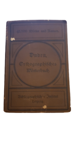Duden Orthographisches Wörterbuch 1887 - German Antique Orthographic dictionary