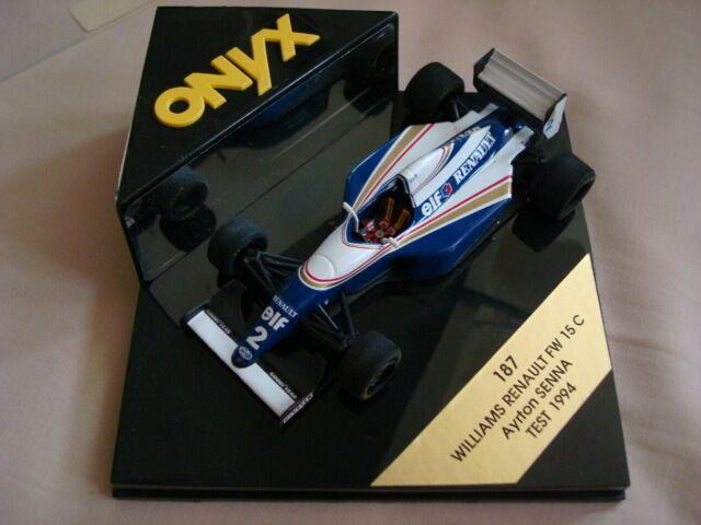 Onyx F1 Williams Renault FW 15 C Ayrton Senna 1994 1 43 Con Estuche
