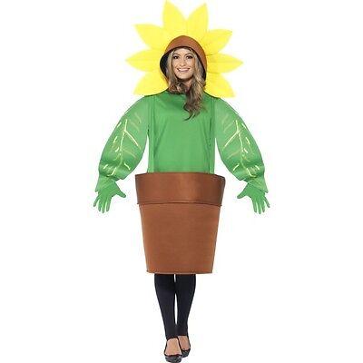 Accessory Round Summer Bbq Hippie Fancy Dress Ladies Sunflower Handbag
