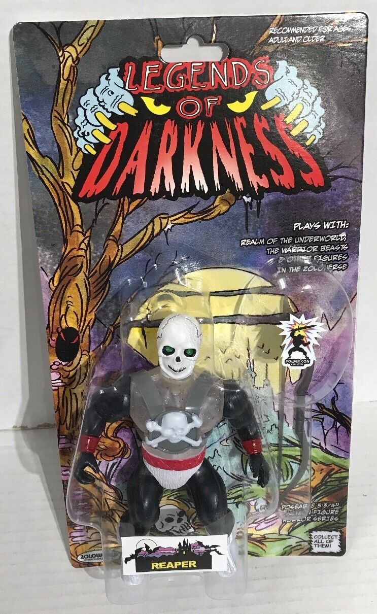 POWER CON Exclusive Legends Of Darkness Reaper Zoloworld