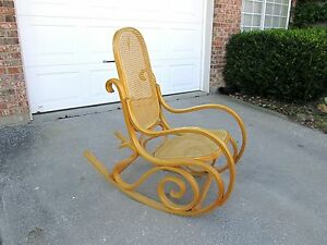 Image Is Loading NICE Vtg Mid Century Modern Thonet Maple Bentwood