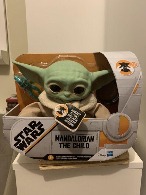 Star Wars Yoda The Child 7 inch Talking Plush 10 Sound Effects Ready To Ship