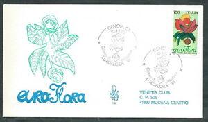 1991 Italia Fdc Venetia 719 Euroflora Timbro Di Arrivo - Q