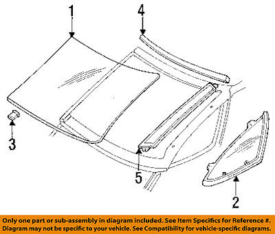 GM OEM Windshield-Reveal Molding Right 92212085