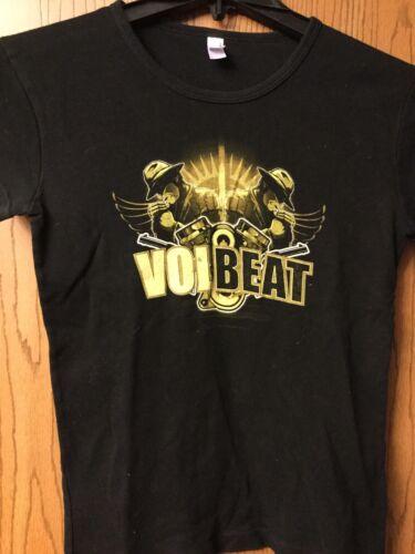Volbeat.  Black Shirt.  Ladies Cut.  L.