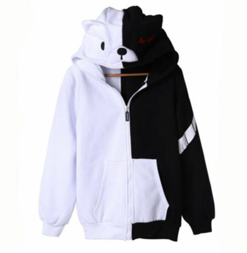 Dangan Ronpa monobear Monokuma Black White Bear Sweat