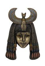 "9.75"" Bastet Headdress Mask Wall Plaque Egyptian Egypt Home Decor"