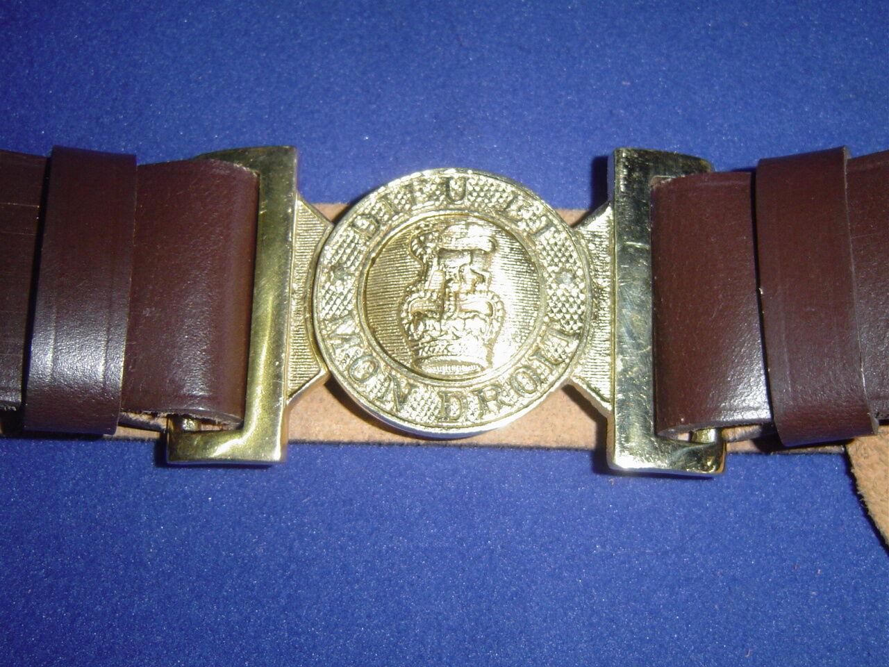 Royal British Army Warrant Class II Infantry Officers Leather Sword Belt   LB29