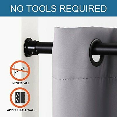 Tension Rod 80 120 Inch Adjustable, Tension Curtain Rods 120 Inches