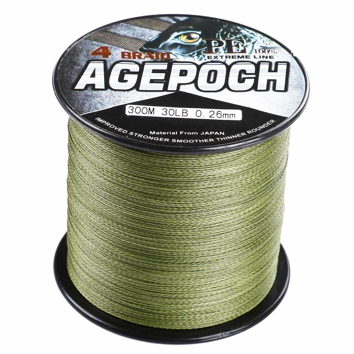 Army Green Super Power Braided Fishing Line 109yds2187yds 6LB- 300LB TOP