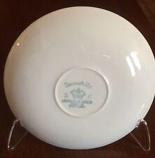 JOHNSON BROS SNOWHITE Snow White 8 Saucers Made in  England 2C