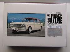 """ARII 1:32 Scale """"Owners Club"""" '63 Prince Skyline Model Kit - New - Kit No 21"""