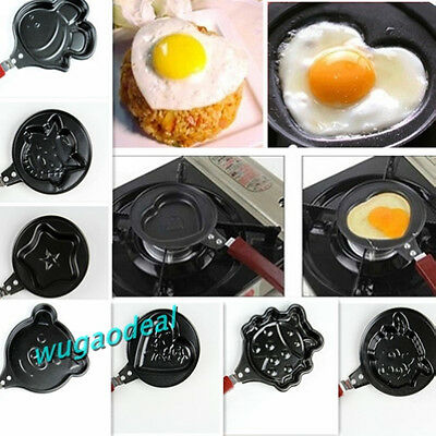 12 Design Creative kitchen Egg Pancake Frying Pan Cooker Mini Non-Stick Pot