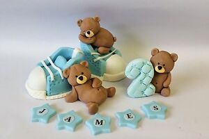 teddy bear wedding cake topper teddy cake toppers edible decoration personalised 20790