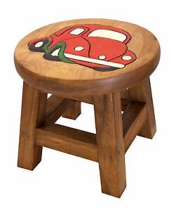 Personalised Hand Carved Children S Wooden Step Stool