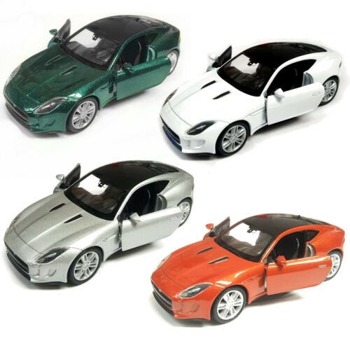 Die Cast Jaguar F-Type Coupe Gift Christmas Pull Back and Go Model Car Toy