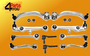 VW-PHAETON-FULL-front-suspension-control-SWINGARM-WISCHBONE-arms-kit-SET
